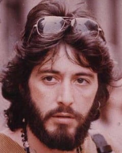 Al Pacino portrays Serpico in the 1973 movie directed by Sidney Lumet