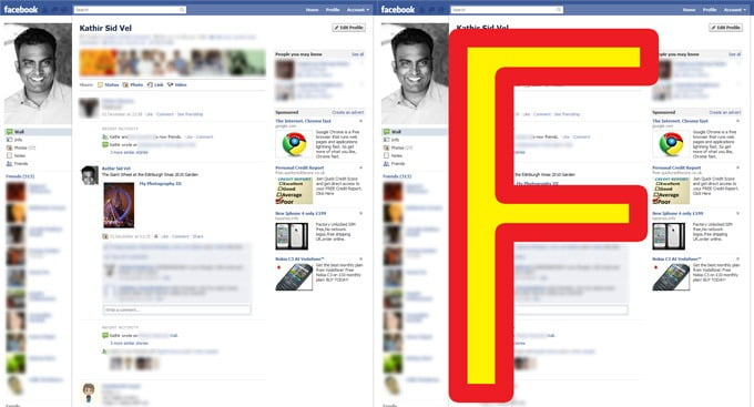 Facebook's New Profile Design