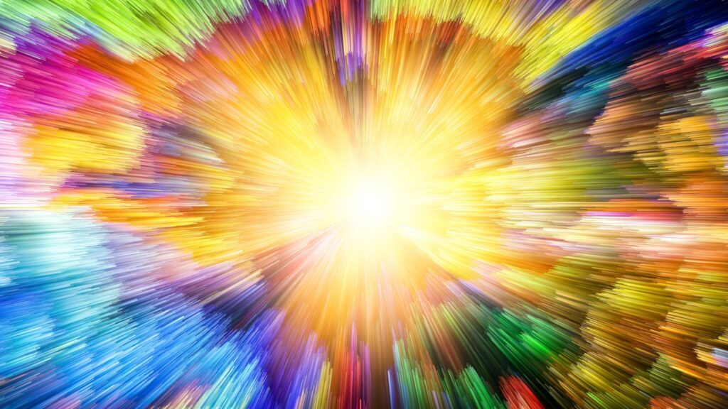 Explosion and Acceleration of Colours