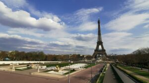 The Night Eats the World - Eiffel Tower Paris in Lockdown